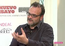Jordi Sánchez Navarro. Entrevista sobre 'Cuando no quede sitio en el infierno'