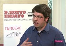 Luis Pérez Ochando. Entrevista sobre 'Cuando no quede sitio en el infierno'
